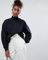 Berksha High Neck Oversized Sweater